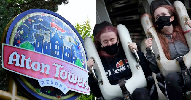 Alton Towers shut after 'electrical storm'