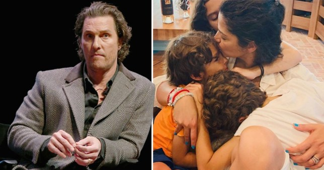 Matthew McConaughey thanks lockdown for improving his mental health and family time
