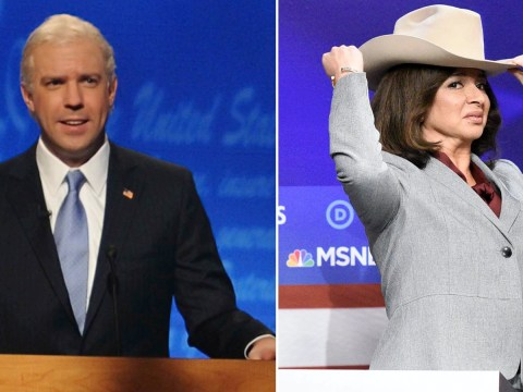 Who plays Joe Biden and Kamala Harris on Saturday Night Live?