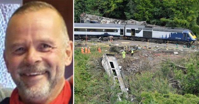 The passenger who died in the Stonehaven rail crash was 62-year-old Christopher Stuchbury from Aberdeen, Police Scotland said.