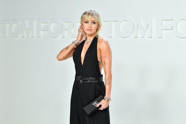 FILE - AUGUST 13: Musicians Miley Cyrus and Cody Simpson have reportedly ended their relationship after 10 months together. HOLLYWOOD, CALIFORNIA - FEBRUARY 07: Miley Cyrus attends the Tom Ford AW20 Show at Milk Studios on February 07, 2020 in Hollywood, California. (Photo by Amy Sussman/Getty Images)