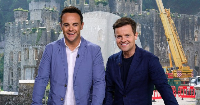 Work continues on new I'm a celeb set (Picture: Mercury Press, Rex)