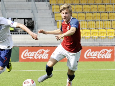 In-form striker Jens Petter Hauge 'very flattered' by Manchester United interest