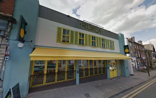 Woman visited bars hours after having a coronavirus test - which then came back positive Rumba bar Congleton Picture: Google Maps