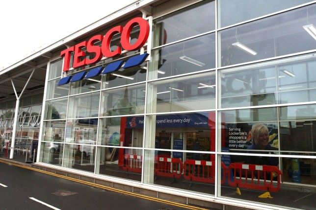 Tesco store in Lockerbie, Scotland, where the discovery of a jar of contaminated baby food prompted Tesco to issue a national product recall and remove remaining stock from its shelves. Nigel Wright is accused of trying to extort ?1.4 million in bitcoin from Tesco. The farmer from Market Rasen, Lincolnshire, denies two counts of contaminating goods and three counts of blackmail for demanding cryptocurrency from Tesco in exchange for revealing where the contaminated food had been placed. PA Photo. Picture date: Tuesday August 18, 2020. See PA story COURTS Blackmail. Photo credit should read: Peter Byrne/PA Wire