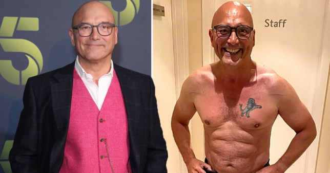 Gregg Wallace shows off weight loss
