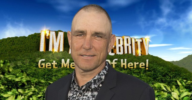 Vinnie Jones shuts down I'm A Celeb rumours Pic: Getty