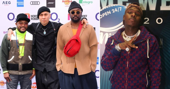 Black Eyed Peas and DaBaby performing at MTV VMAs for first time