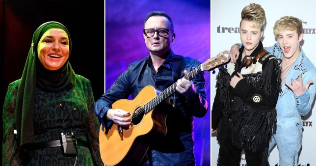 Sinead O'Connor joins Jedward in hitting out at Jim Corr Getty