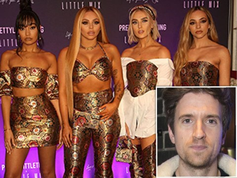 Greg James admits he's not a fan of some of Little Mix's music but had to fake it on air