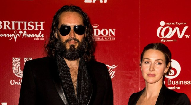Russell Brand and Laura