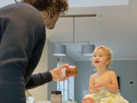 We cannot handle how adorable Joe Wicks's daughter Indie, 2, is as she gets excited about her porridge