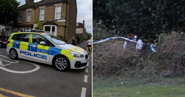 Man stabbed and body dumped in park (Picture: LNP, UKNIP)