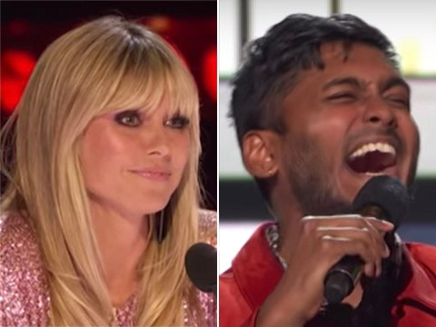 America's Got Talent: Heidi Klum left unimpressed after contestant Usama calls her a 'tramp' in comedy act
