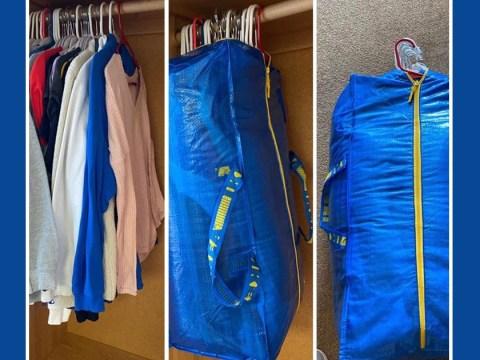 Ikea big bag hack makes moving house way easier