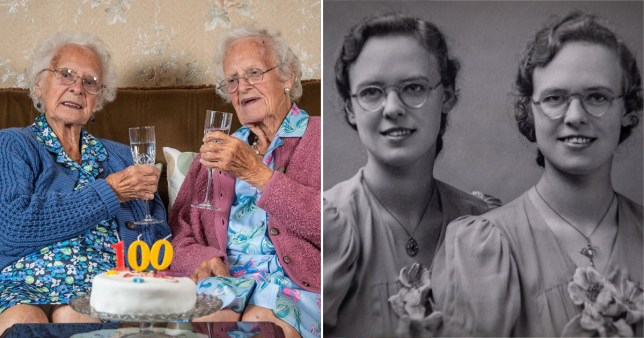 identical twin sisters Dorothy Sivyer and Kathleen Whitehead