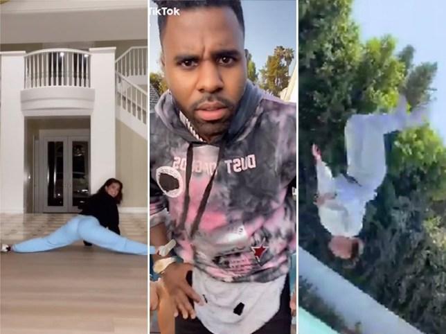 Celebrity WAP dance TikToks