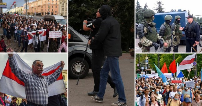 Europe's last dictatorship rounds up journalists doing their jobs in Freedom Square
