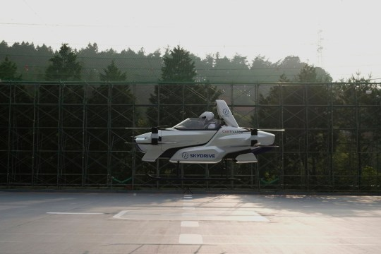 Flying car in Japan