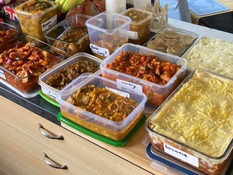 Mum-of-two reveals how she feeds her entire family for a month with just £47