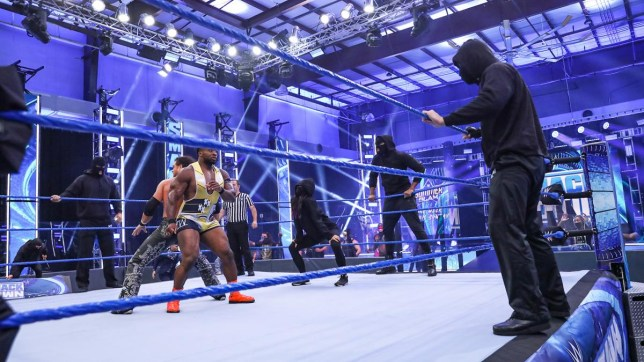 RETRIBUTION on WWE SmackDown