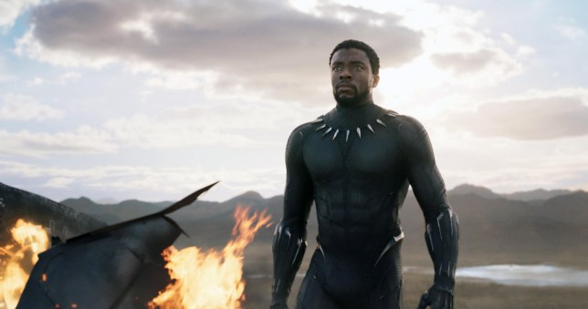 'Black Panther' is an upcoming American superhero film based on the Marvel Comics character of the same name. Produced by Marvel Studios and distributed by Walt Disney Studios Motion Pictures. This photograph is for editorial use only and is the copyright of the film company and/or the photographer assigned by the film or production company and can only be reproduced by publications in conjunction with the promotion of the above Film. A Mandatory Credit to the film company is required. The Photographer should also be credited when known. KXC1WW
