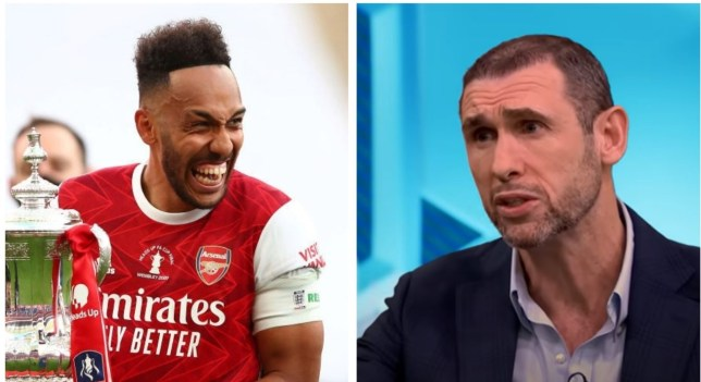 Martin Keown fears Pierre-Emerick Aubameyang is set to leave Arsenal