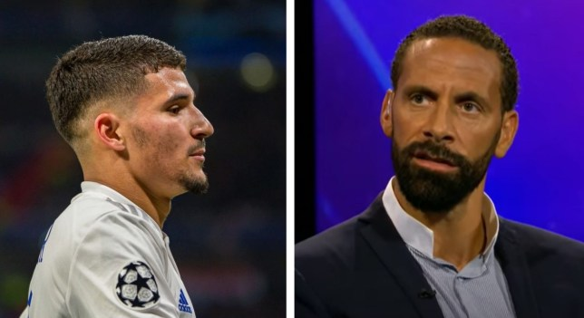 Rio Ferdinand has rated Chelsea and Arsenal transfer target Houssem Aouar