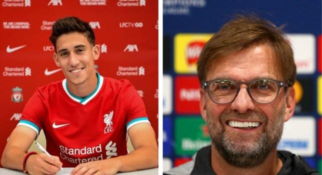 Jurgen Klopp is delighted by Liverpool's signing of Kostas Tsimikas