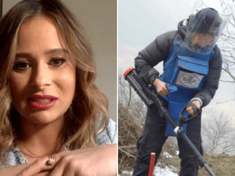 Love Island's Camilla Thurlow thanks series for helping her recover from horrors of work as bomb disposal expert