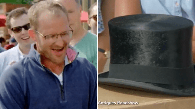 Antiques Roadshow viewers were left stunned after a Winston Churchill hat that was found at the tip was worth a staggering amount of money (Picture: BBC)