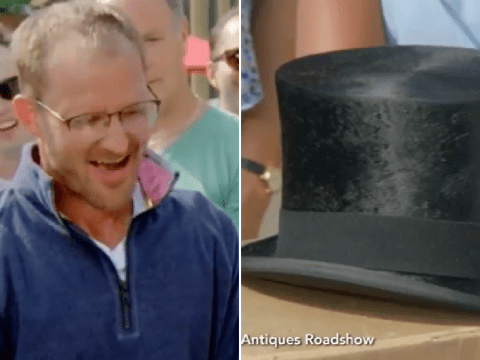 Antiques Roadshow viewers shocked at value of Winston Churchill's hat pulled from the dump