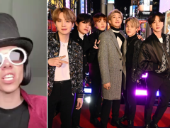 Willy Wonka TikTok star urges fans to support BTS' Dynamite and no one can handle it
