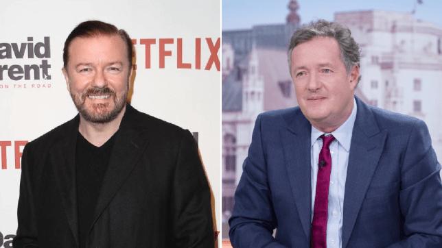 Ricky Gervais Piers Morgan