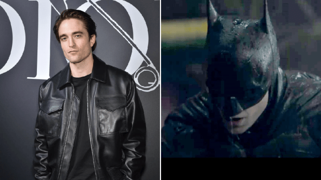 Robert Pattinson as Batman