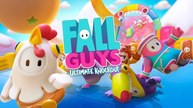Fall Guys key art