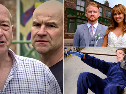 Coronation Street spoilers: 29 new images reveal Tim's Geoff exit, Maria & Gary wedding drama and Todd return