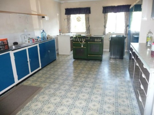 The kitchen before