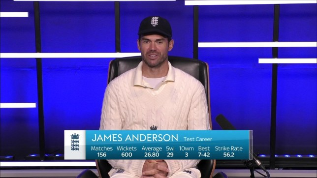 England bowler James Anderson says it felt 'amazing' to reach 600 Test wickets