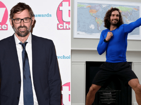 Louis Theroux got ripped in lockdown after following Joe Wicks' workout tutorials 'religiously'
