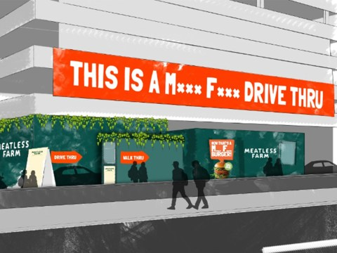 UK's first meat-free drive-thru opens this week
