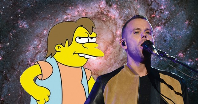 nelson from the simpsons and m83