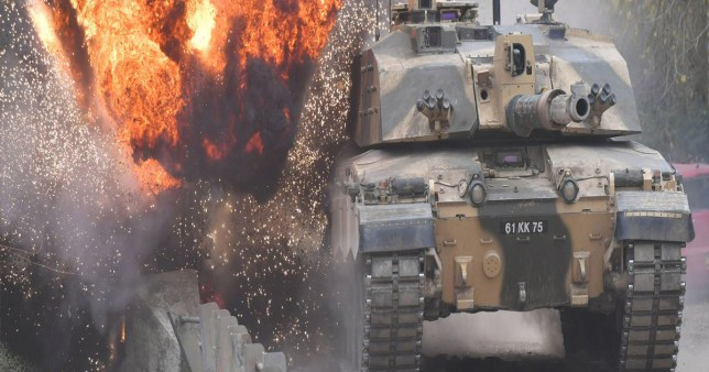 Military chiefs are considering scrapping Britain's fleet of tanks.