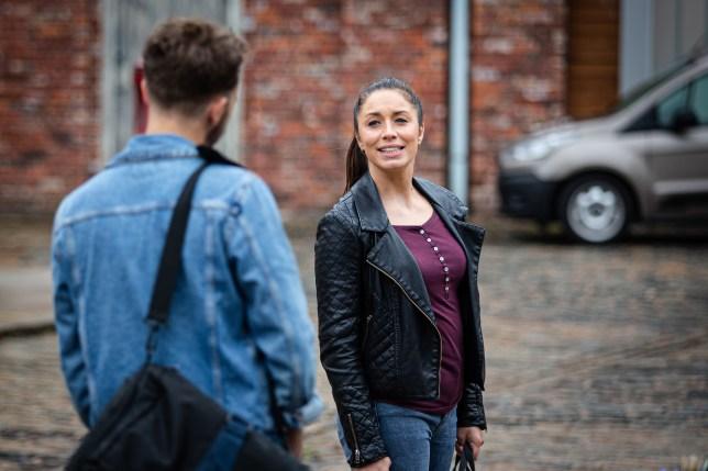 David and Shona in Coronation Street