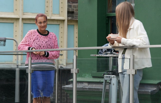 Frankie and Tina in EastEnders