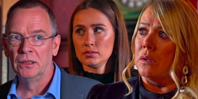 Ian, Dotty and Sharon in EastEnders