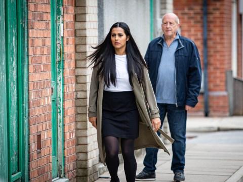 Coronation Street spoilers: Geoff Metcalfe accosts Alya Nazir in huge showdown