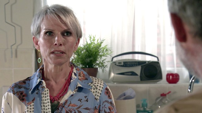 Sue Devaney as Debbie Webster in Coronation Street