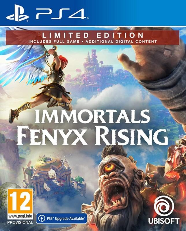 Immortals Fenyx Rising box art