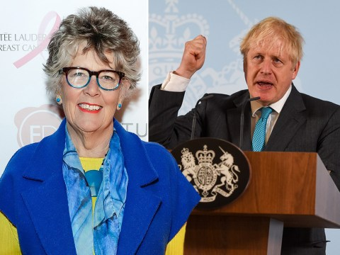 GBBO's Prue Leith 'feels sorry' for Boris Johnson over backlash to government's coronavirus rules